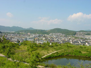 View of Mito-cho, Higashi Mikawa Furosato-en