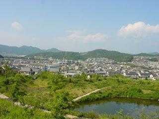 View of Mito-cho, Higashi Mikawa Furosato-en