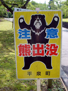 Beware of the bear!