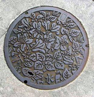 Takayama manhole.