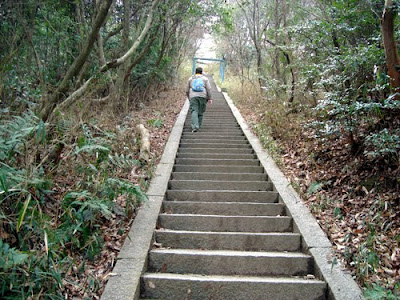 Hiking Mount Daimonji