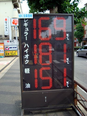Japan's Gasoline Price, June 2008