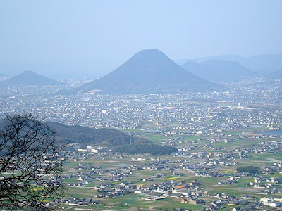The view from the top, Kompira-san Kotohira