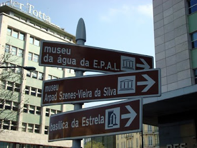Portugal Street Sign
