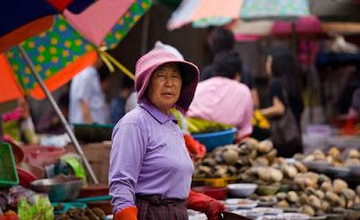 Jagalchi Fish Market Pusan