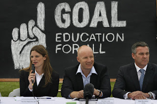 The launch of One Goal: Education for All
