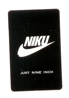 Nike parody sticker in gay Tokyo