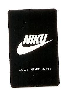 Nike parody sticker in gay Tokyo
