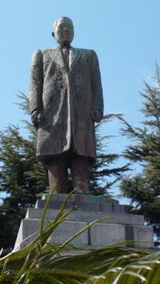 Giichi Tanaka statue