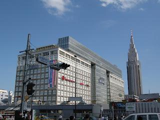 Shinjuku shopping in Tokyo