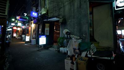 Goldengai By Night Tokyo