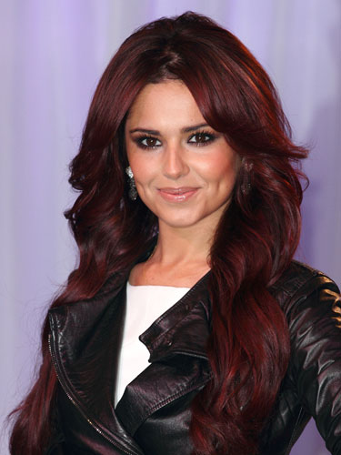 of red hair dye..Go Cheryl*put ur money up*. My favourite X-factor