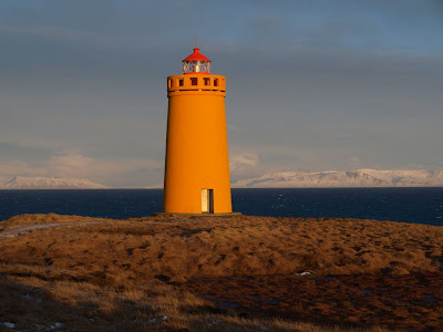 Leuchtturm bei Keflavik