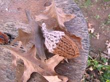 Autumn Acorn Knitting Pattern