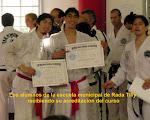 Menciones a los alumnos con el diploma internacional