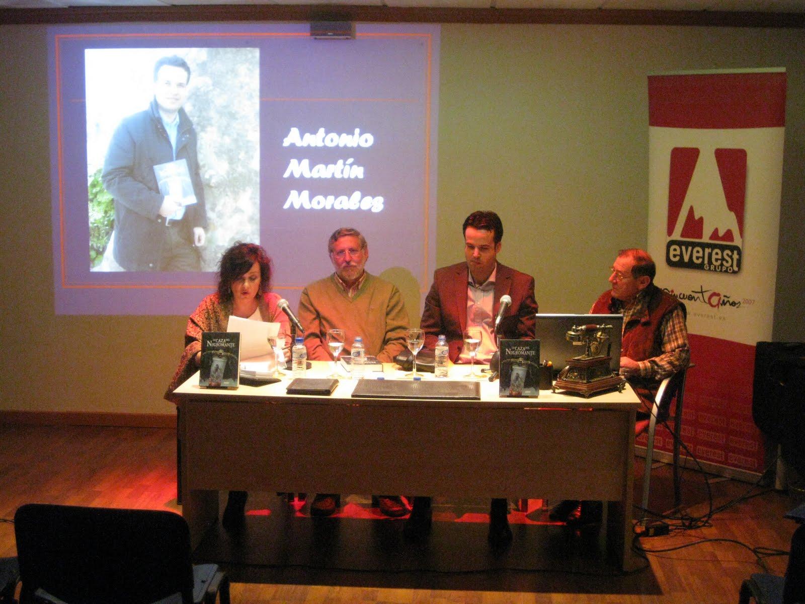Librer a nueva gala antonio mart n morales presenta en sc - Antonio martin morales ...