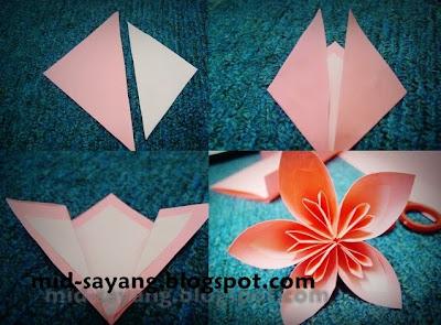 DIY BUNGA TANGAN - PLASTIK