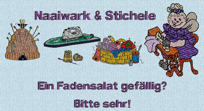 Naaiwark und Stichele