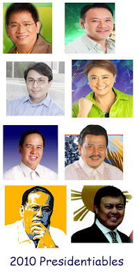 presidentiables 2010 philippines