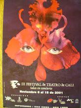Afiche Festival de Teatro de Cali
