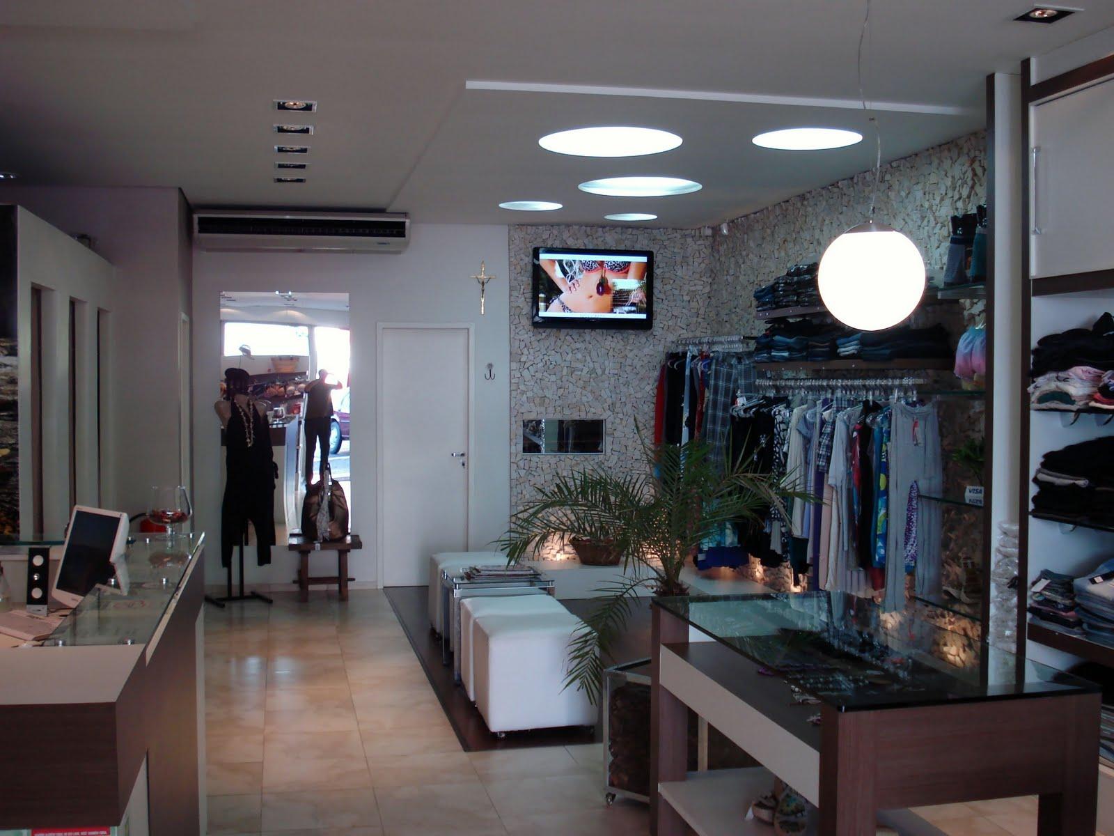 decoracao de interiores de lojas de roupas: . Paisagismo . Design: Projetos de Interiores – Loja de roupas