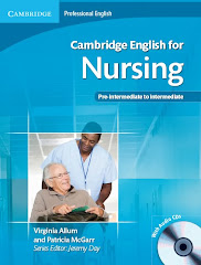 Cambridge English for Nursing pre-intermediate