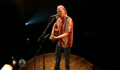 Neil Young's hair last night