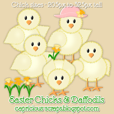 "Scrapbook Freebie ""Easter Chicks"" by capricious"