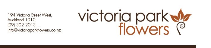 The Floral Note - News from Victoria Park Flowers