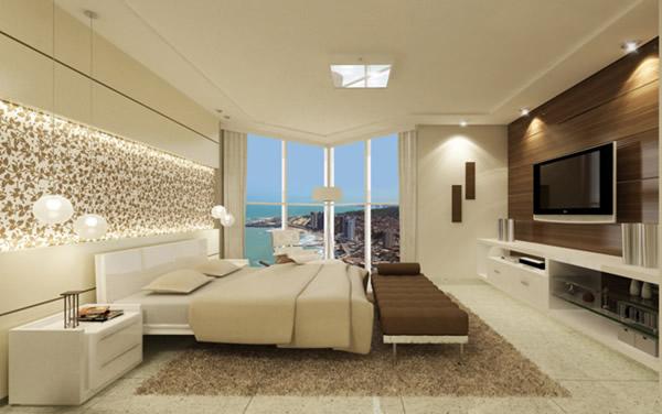 Gesso acartonado draywall tharhu decora o - Lampara para dormitorio moderno ...