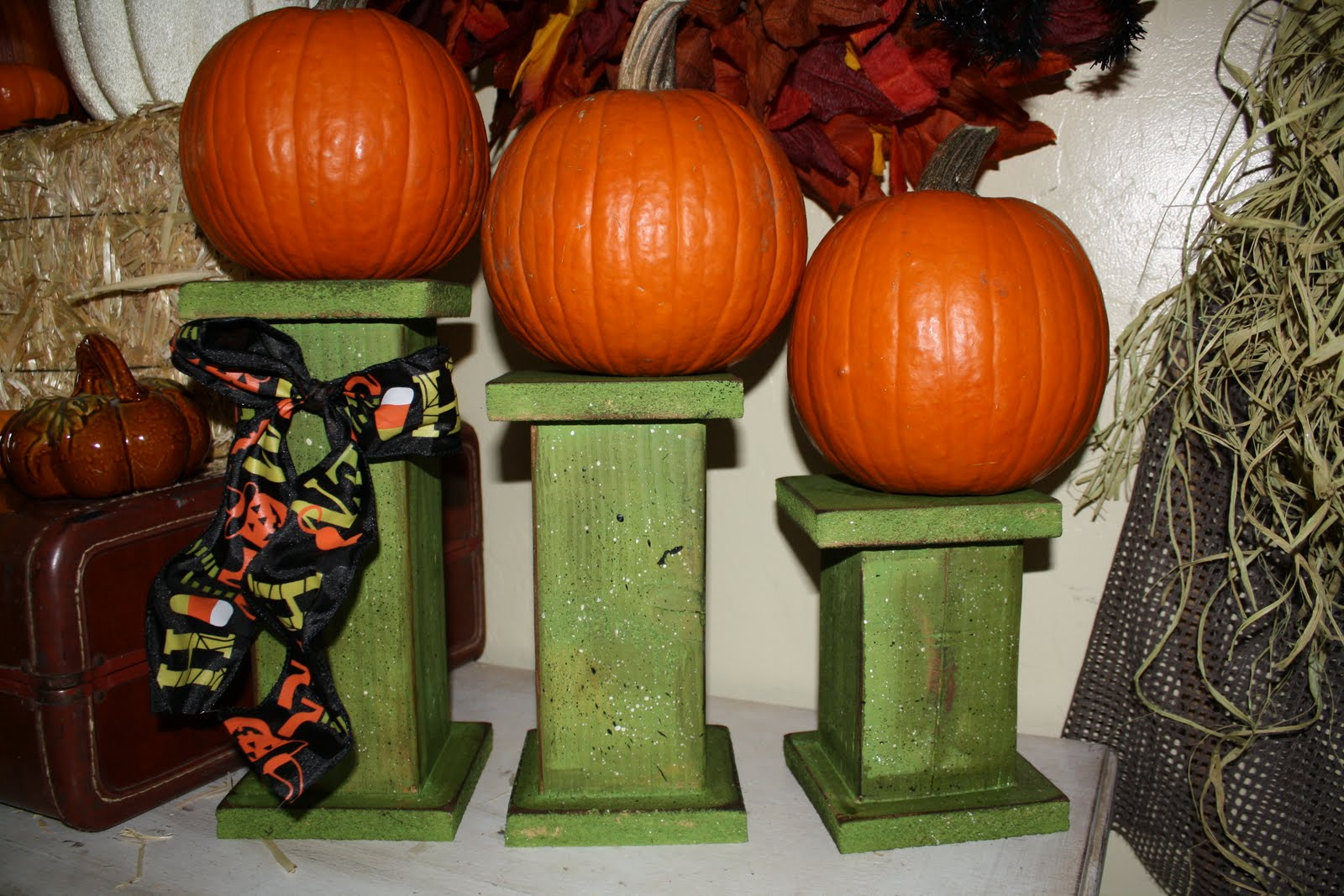 Dejavu crafts halloween 4x4 candle post and 1 store for Decoration 4x4