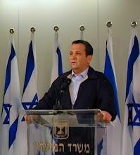 Israel Defense Minister Ehud Barak