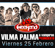 Vilma Palma e Vampiros en Lima, Discoteca Weekend, 25 de Febrero 2011