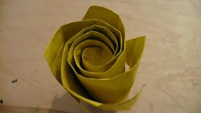 origami phu tran rose