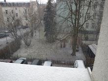 plötzlich schnee