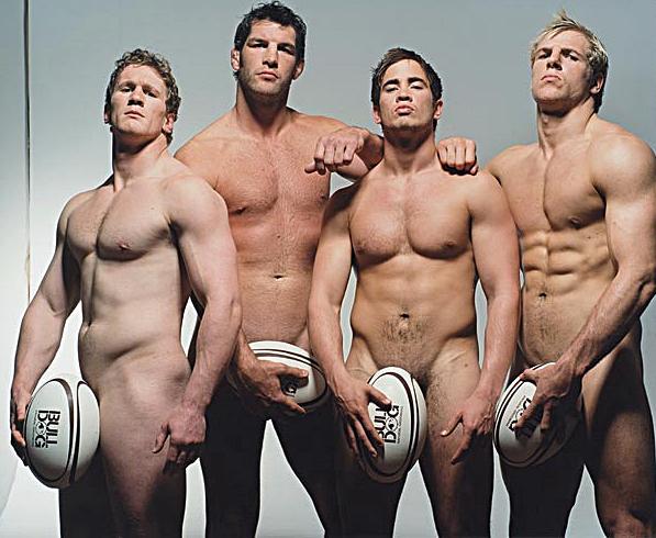nude sportsmen