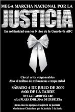 MEGA MARCHA NACIONAL, 4 DE JULIO