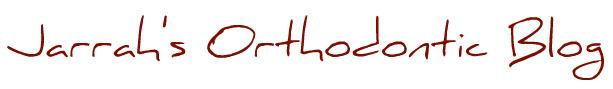 Jarrah's Orthodontic Blog