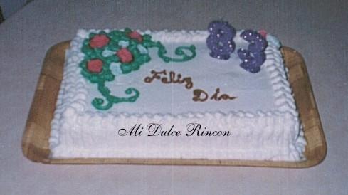 Modelos de tortas decoradas con crema - Imagui