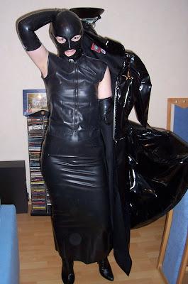 Платье из латекса СЕКСИИ!!!!