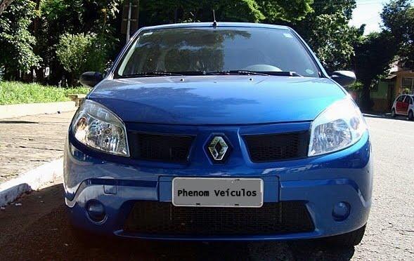 2008 Renault Sandero. O Renault Sandero 1.6 Flex