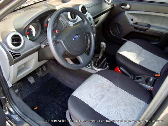 Ford Fiesta Sedan 2009. Ford Fiesta Sedan Interior.