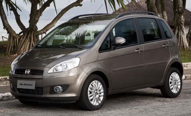 Novo fiat idea 2011 attractive 1 4 flex chega com pre o a for Fiat idea attractive 1 4 ficha tecnica