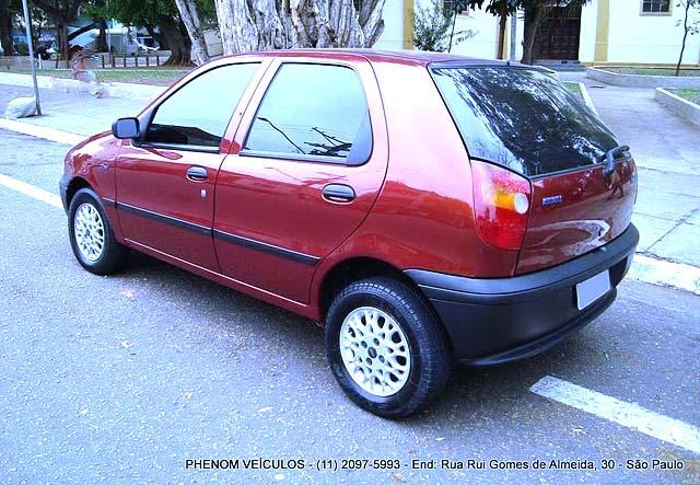 Fiat Palio EDX 1997 - traseira