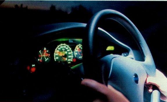 Fiat Palio EDX 1997 - painel de instrumentos
