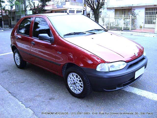Fiat Palio EDX 1997 - lateral traseira