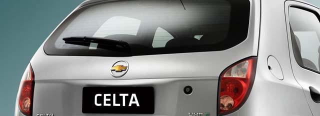 Chevrolet Celta 2011 - Traseira