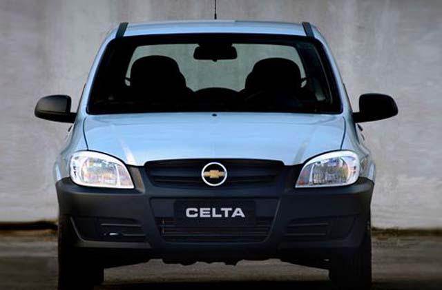 Chevrolet Celta 2011 - Life Visao Frontal