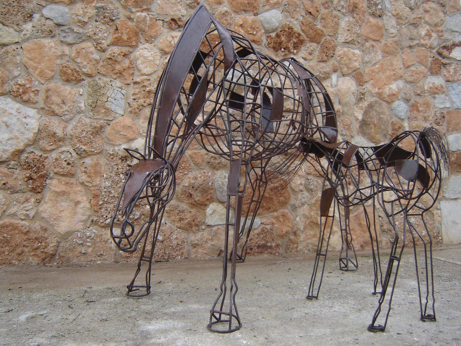 Binisalem Spain  city pictures gallery : Arte en Hierro Juan Jose Oliva Cerezo: Maternidad escultura