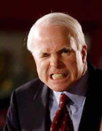 Angry John McCain